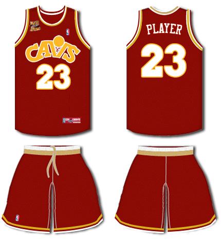 new concept 56269 3c656 Gone Too Soon: The Early-1980s Cleveland Cavaliers | Uni Watch