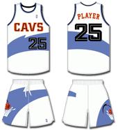 cavs jersey history